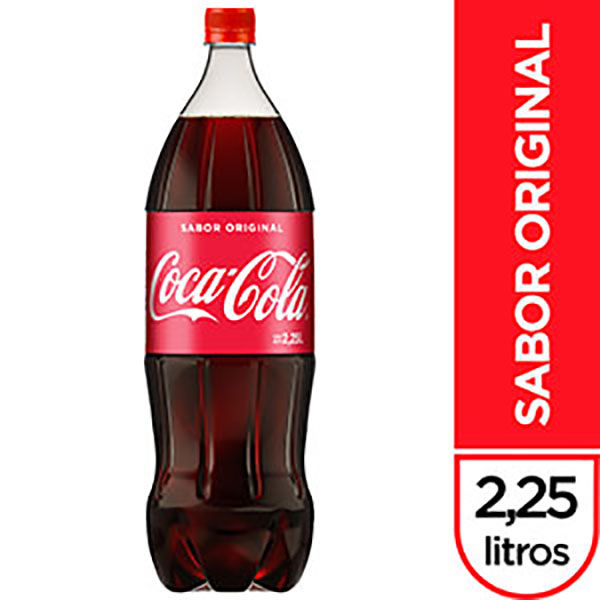 COCA COLA GASEOSA PET 2.25L