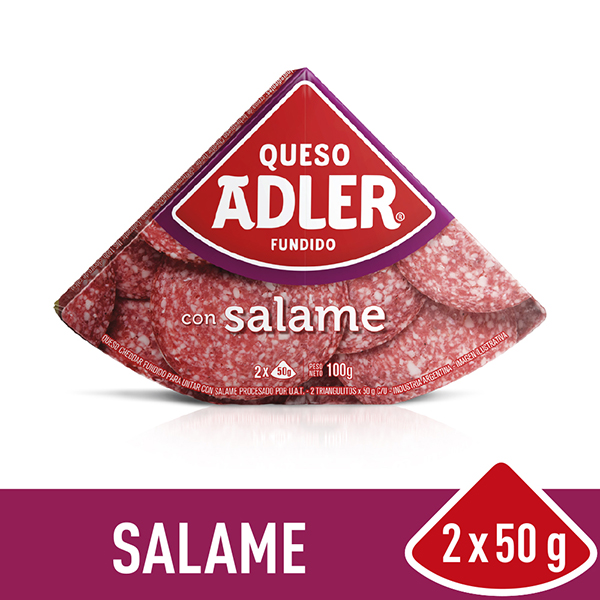ADLER QUESO UNTABLE SALAME X100G