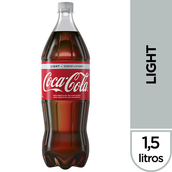 COCA COLA LIGHT PET X1.5L