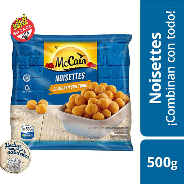 MC CAIN PAPAS NOISETTES X500G