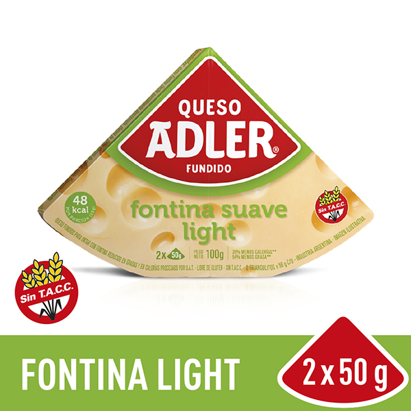 ADLER QUESO UNTABLE LIGHT X100G