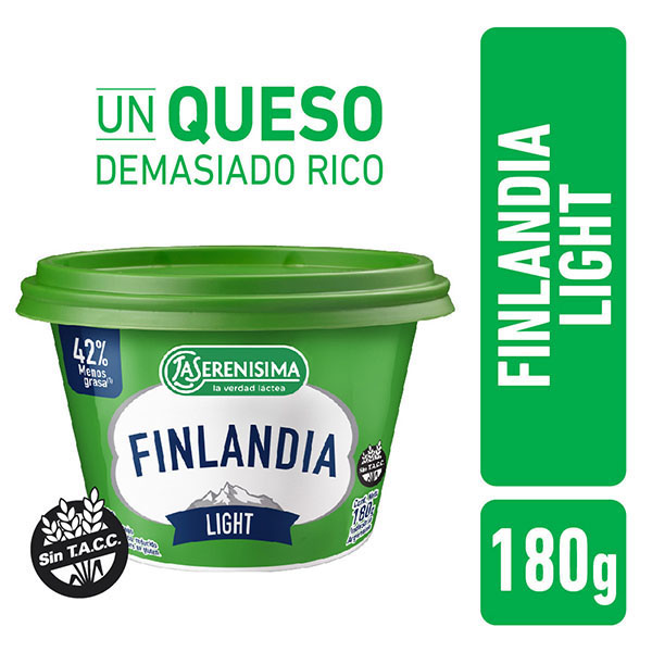 FINLANDIA QUESO UNTABLE LIGHT X200GR
