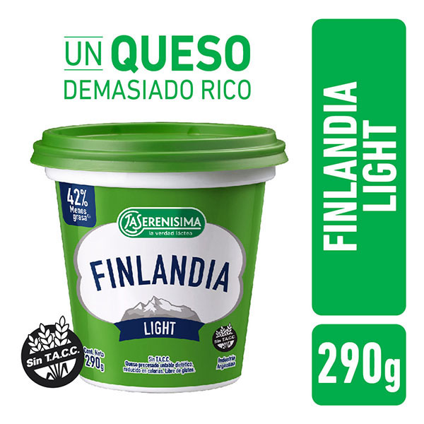 FINLANDIA QUESO UNTABLE LIGHT X300GR