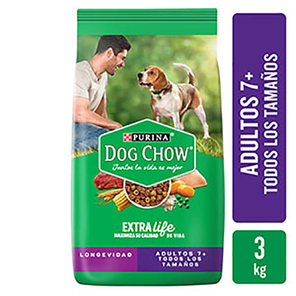 DOG CHOW BALANCEADO ADUL/MAY.X3 KG