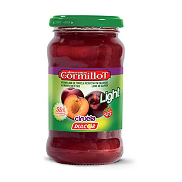 CORMILLOT MERMELADA CIRUELA LIGHT X390G